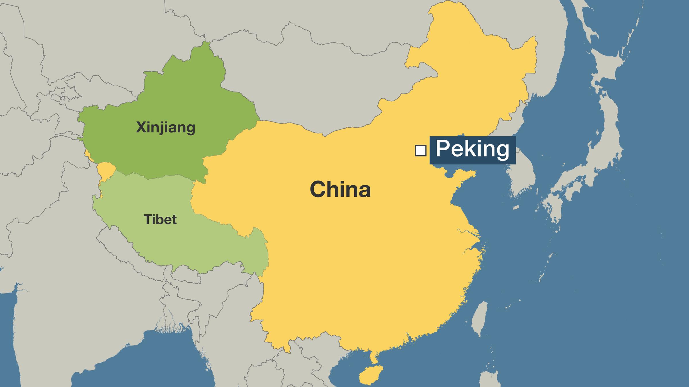 peking karte china Uiguren und Tibeter: Autonomie war gestern   ZDFheute
