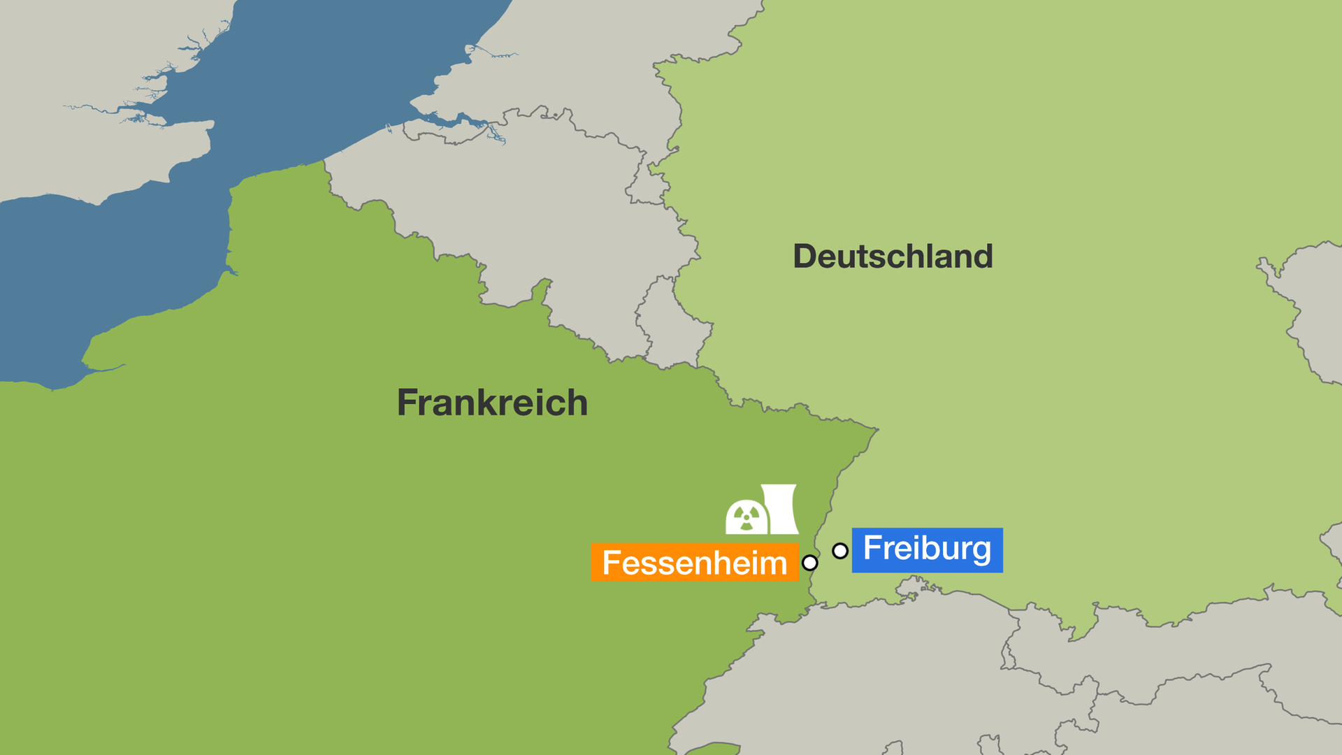 Atomkraftwerke Deutschland Karte.Frankreichs ältestes Akw Macron Will Fessenheim 2020 Schließen