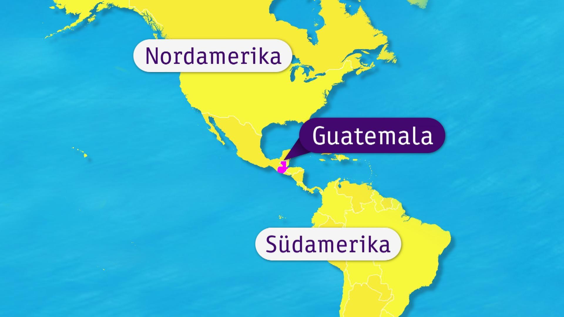 Guatemala Karte.Logo Guatemala Zdfmediathek