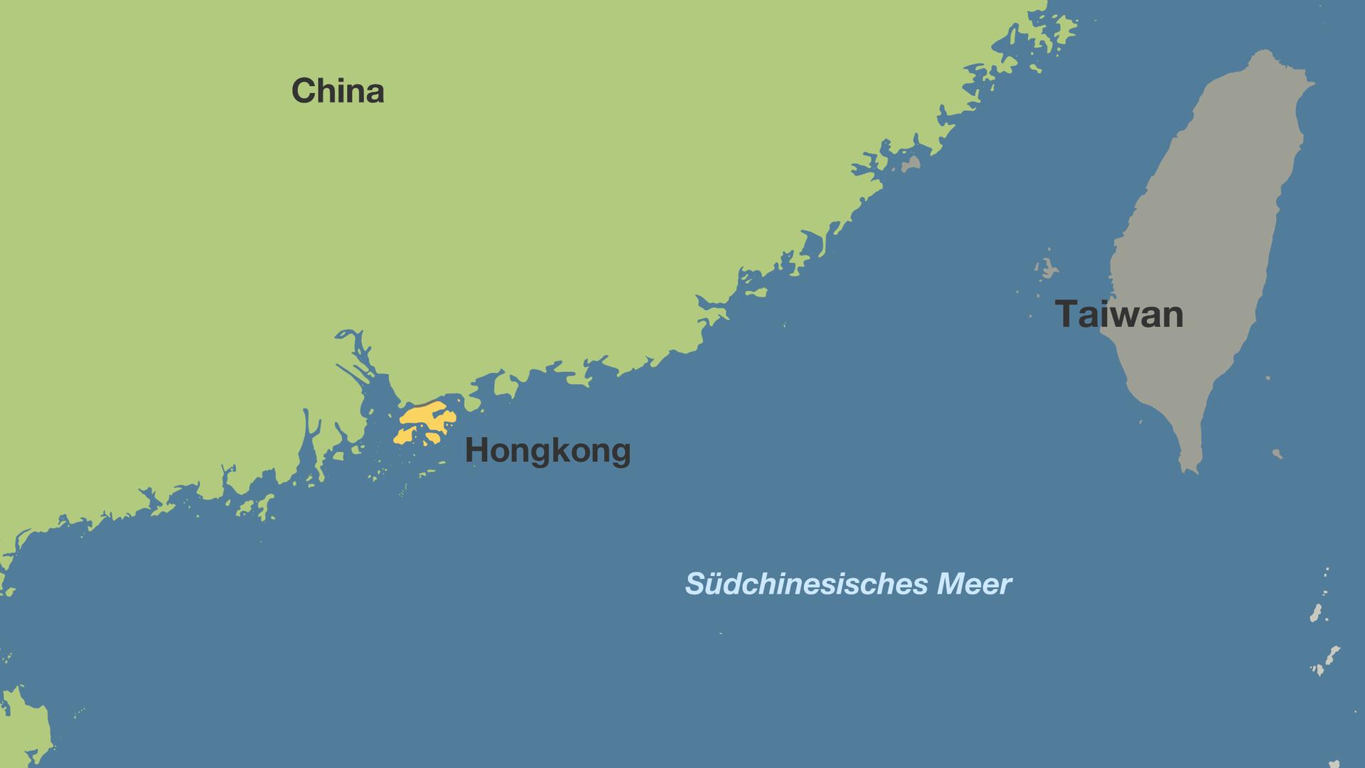 Karte China Hong Kong.Proteste In Hongkong Tränengas Gegen Demonstranten Zdfmediathek