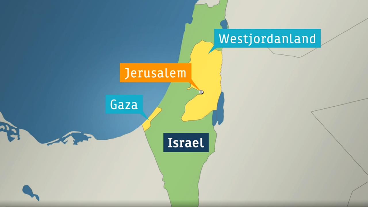 Jerusalem Karte Heute.Sensibler Punkt Im Volkerstreit Schwierige Stadt Jerusalem