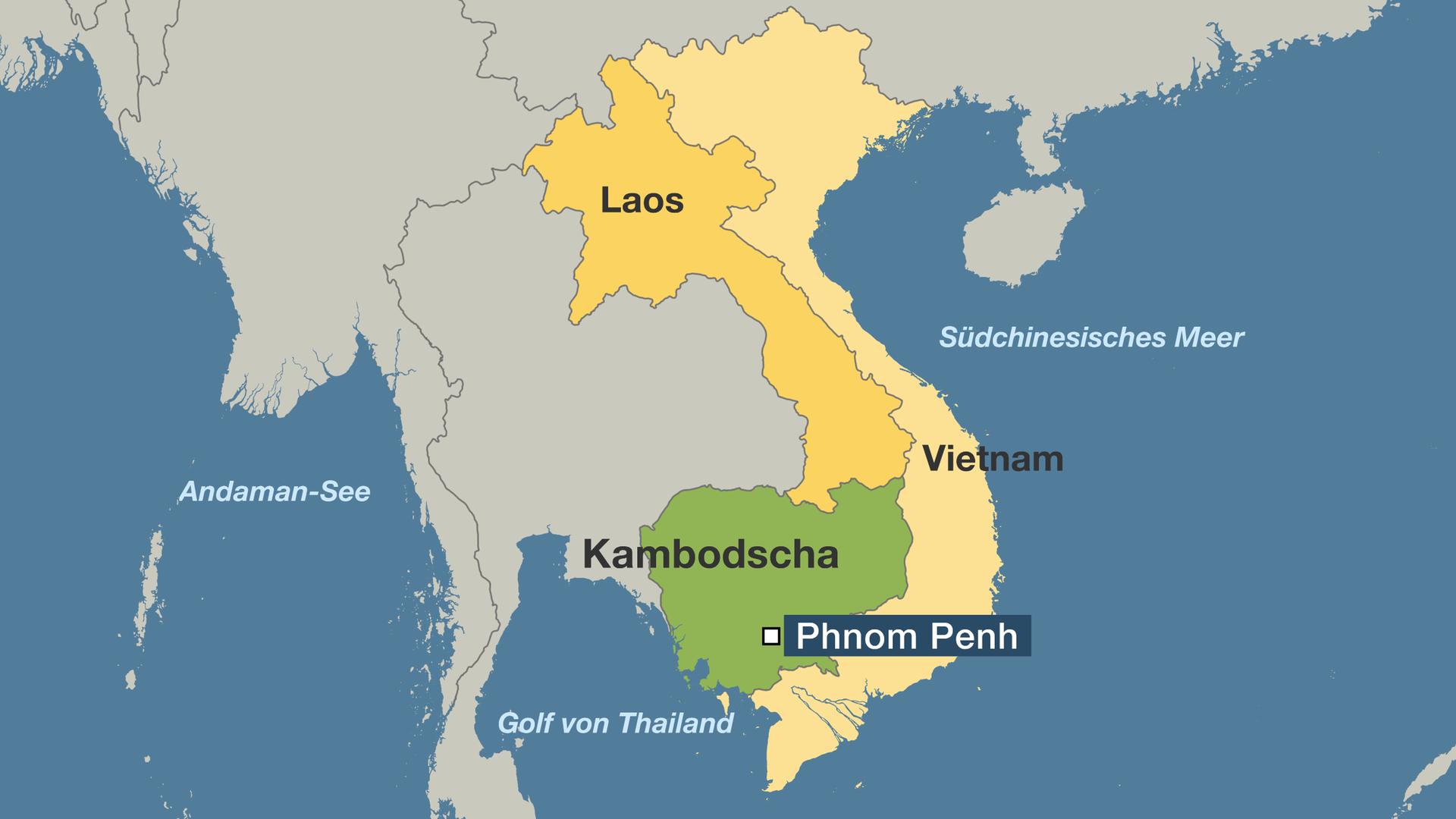 Kambodscha Karte.Hintergrund Volkermord In Kambodscha Zdfmediathek