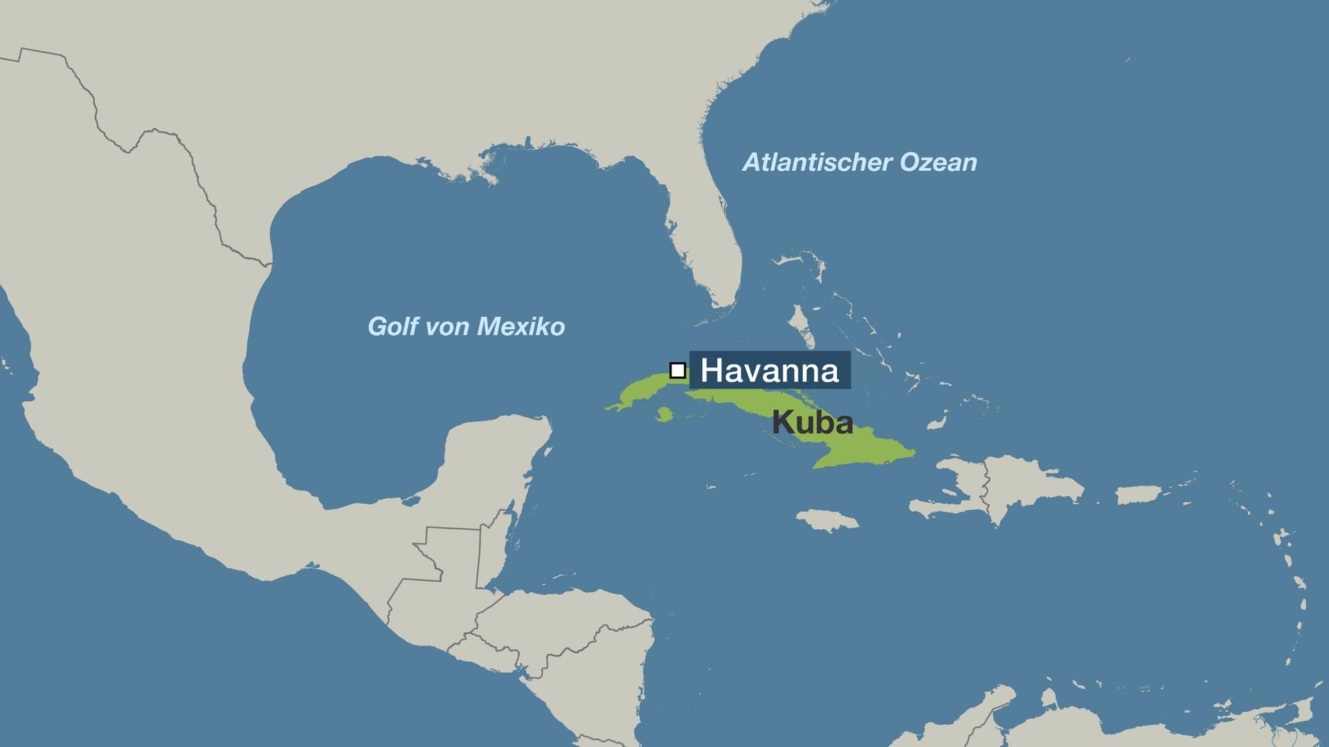 Havanna Kuba Karte.Blitz Und Lauter Knall Meteorit Geht Auf Kuba Nieder Zdfmediathek