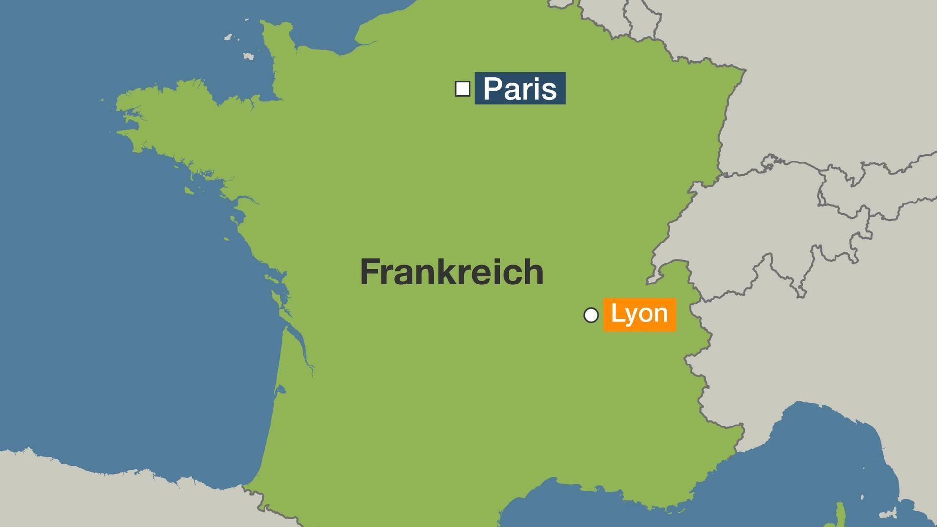 Lyon Karte.Mehrere Menschen Verletzt Explosion In Innenstadt Von Lyon