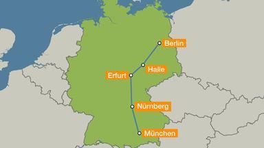 Neue Ice Strecke Von München Nach Berlin Im Eiltempo