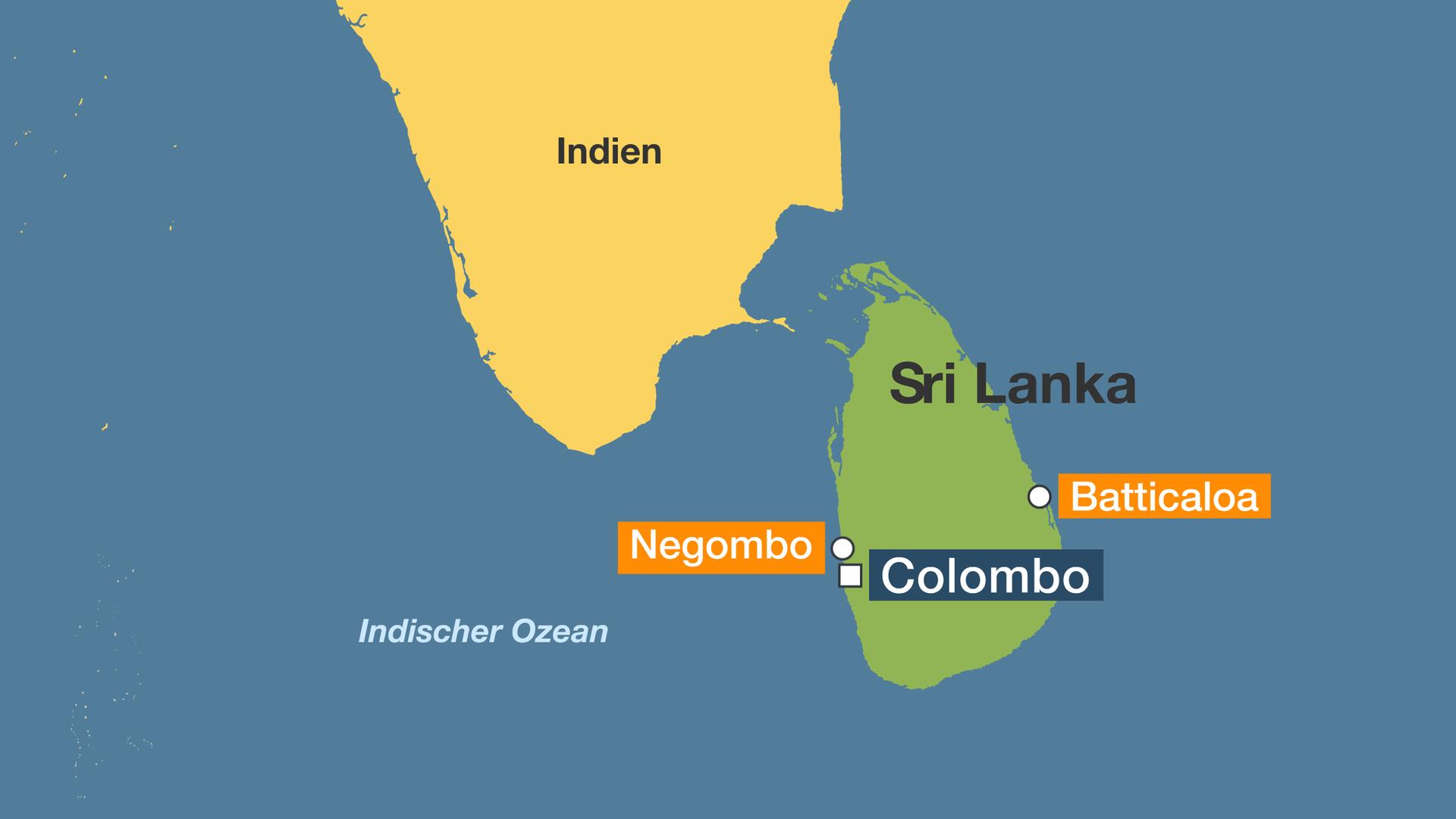 Sri Lanka Karte Zum Drucken.Hintergrund Sri Lanka Religios Gespaltenes Land Zdfmediathek