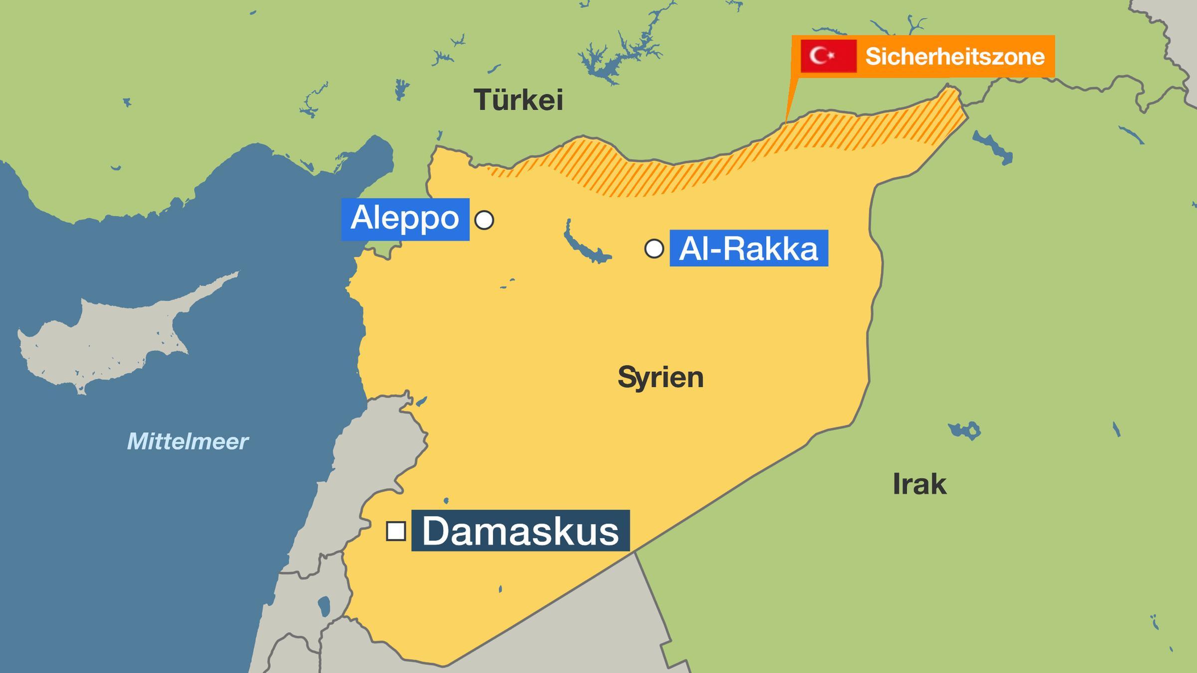 Nordsyrien Turkei Beginnt Militaroffensive Zdfheute