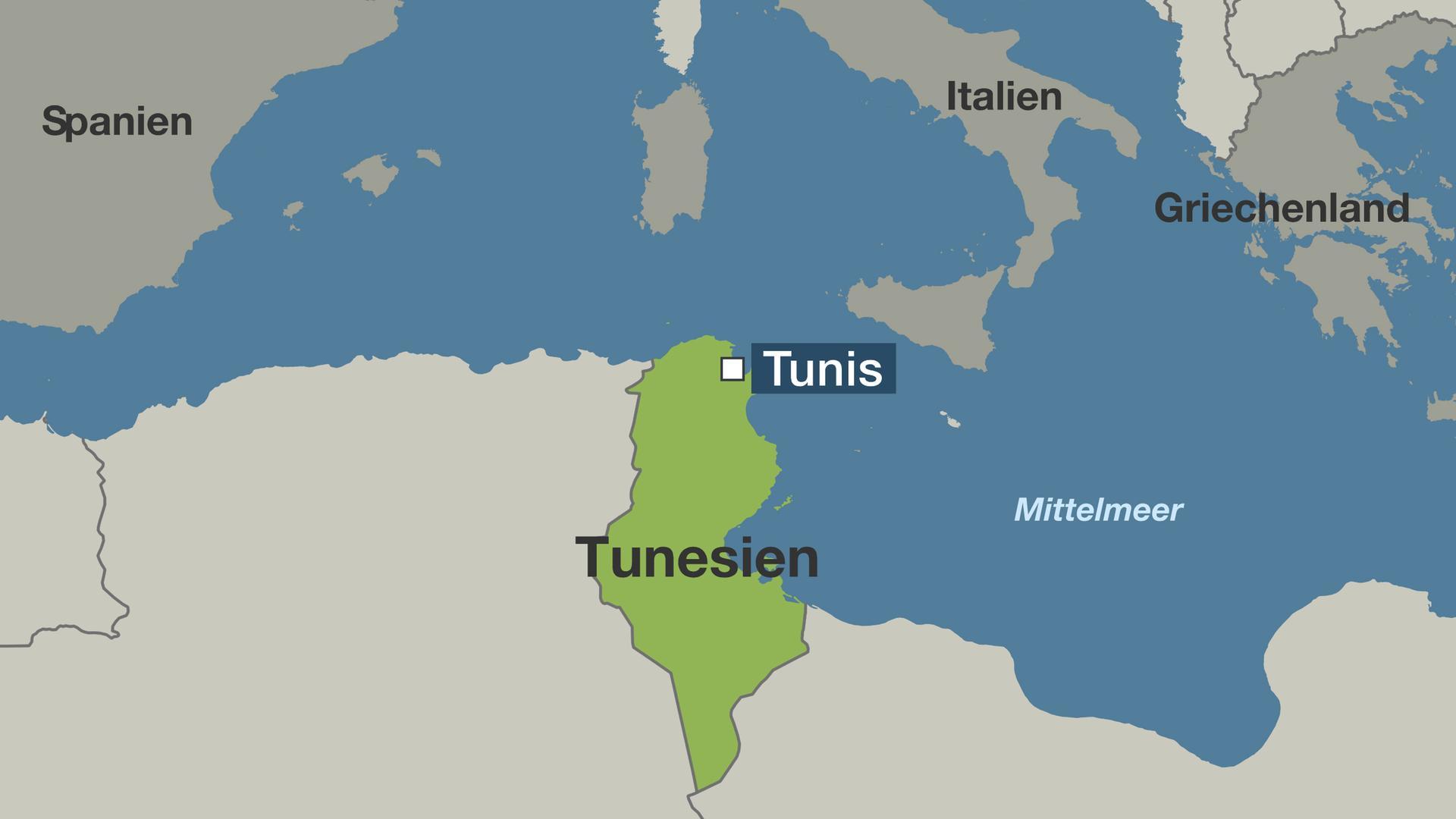 Tunesien Karte Welt.Prasidenten Stichwahl Entscheidender Tag In Tunesien