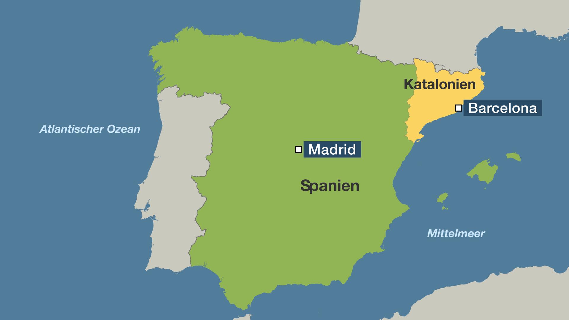 spanien katalonien karte Spanien Katalonien Karte | hanzeontwerpfabriek