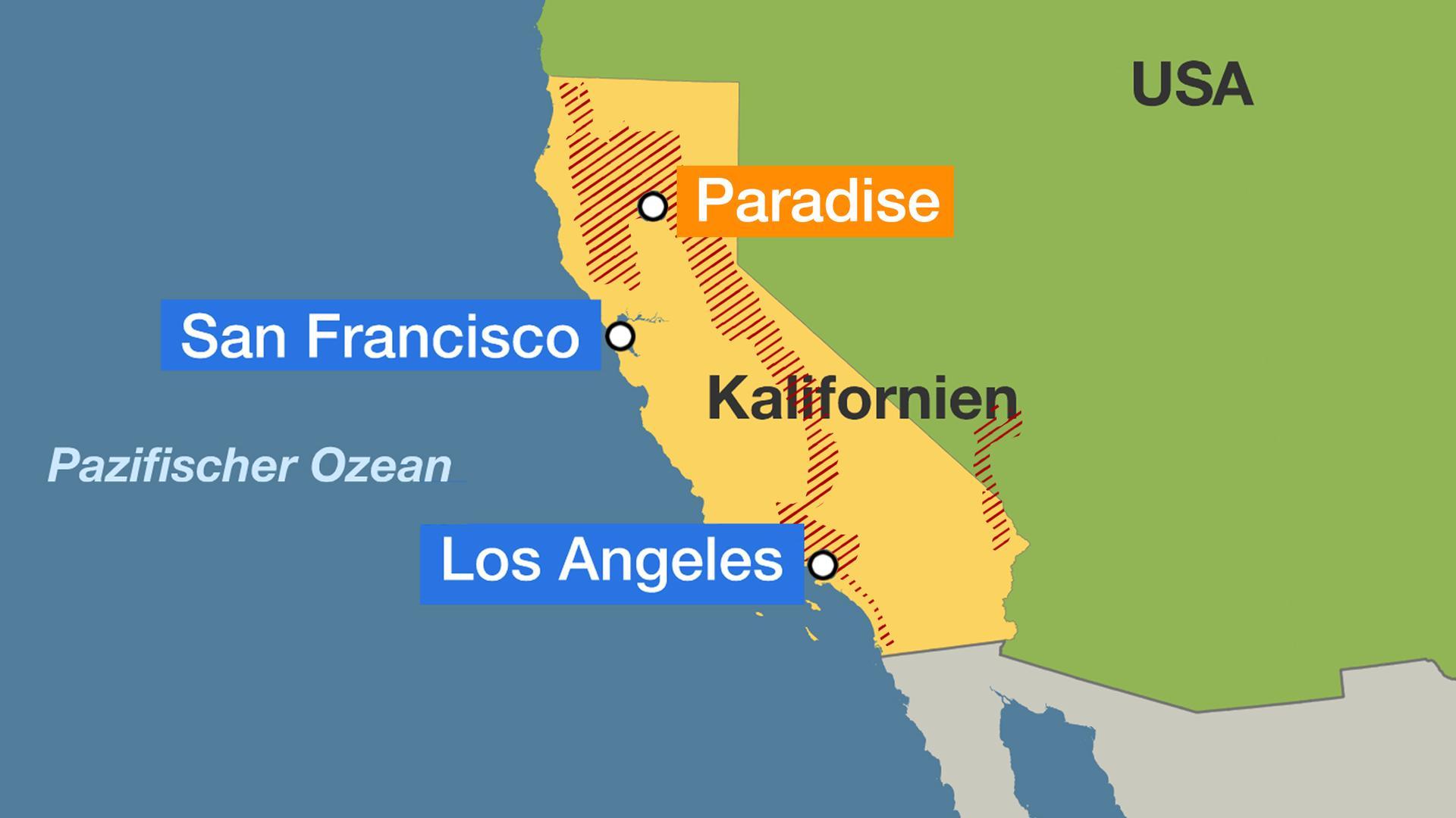Waldbrände Portugal Karte.Waldbrände In Kalifornien Viele Stars Von Feuersbrünsten Betroffen