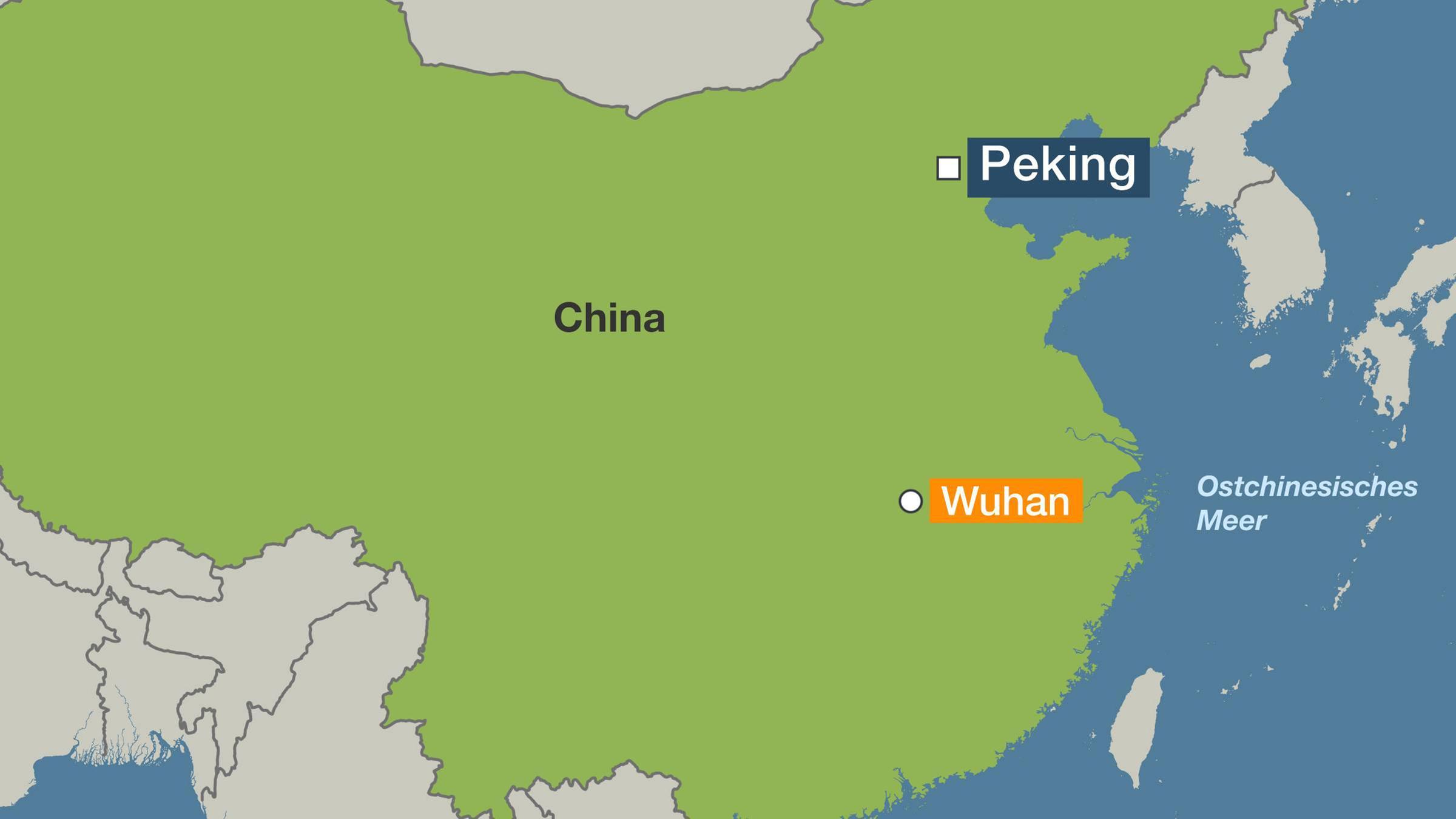 millionenstädte china karte Wuhan, Huanggang, Ezhou: China stellt drei Millionenstädte unter