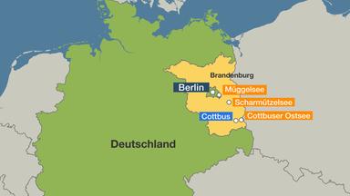 Ostsee Deutschland Karte.Ehemaliger Tagebau Bergbaugrube Wird Riesiger Kunstlicher