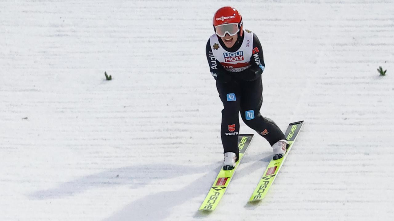 Gold für deutsche Skispringer im Mixed-Team