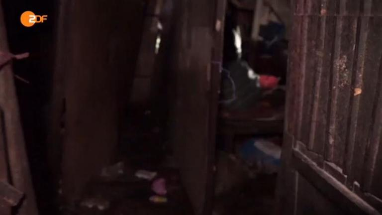 Kino-Slum von Phnom Pen