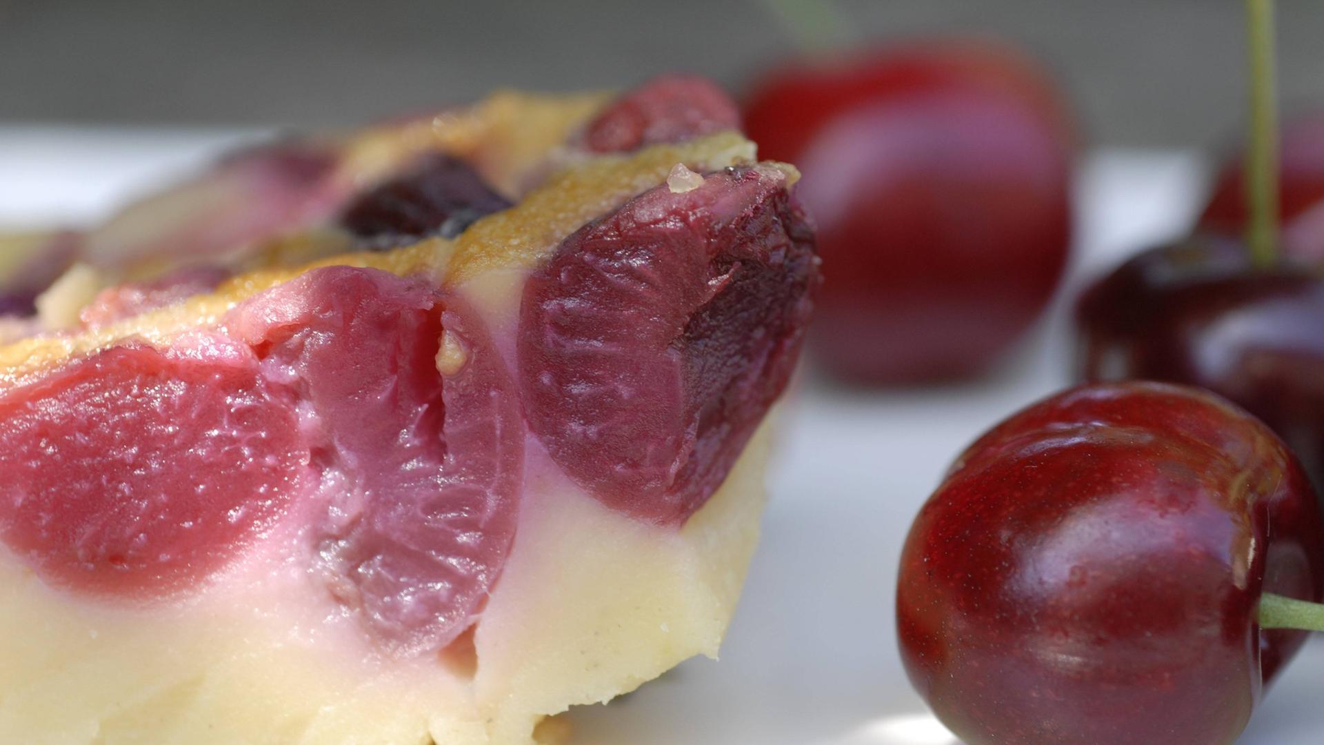 Franzosisches Dessert Clafoutis Zdfmediathek