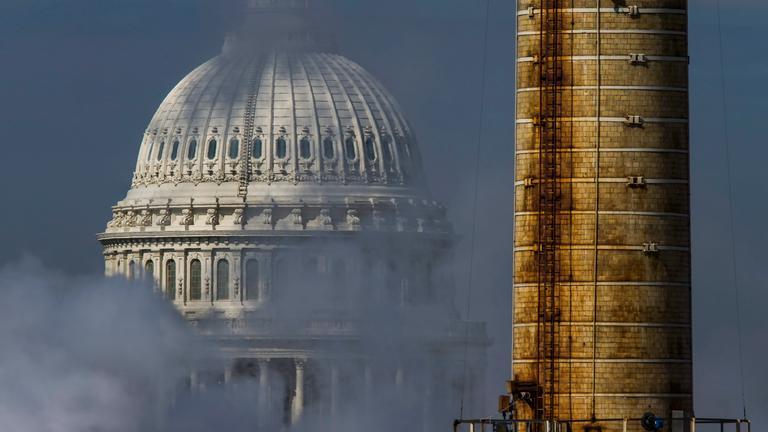 Ein Kohlekraftwerk in Washington