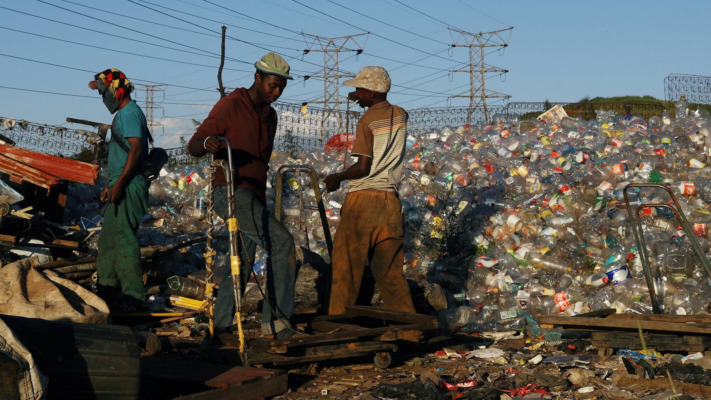 Südafrikanischer weißer Teenager