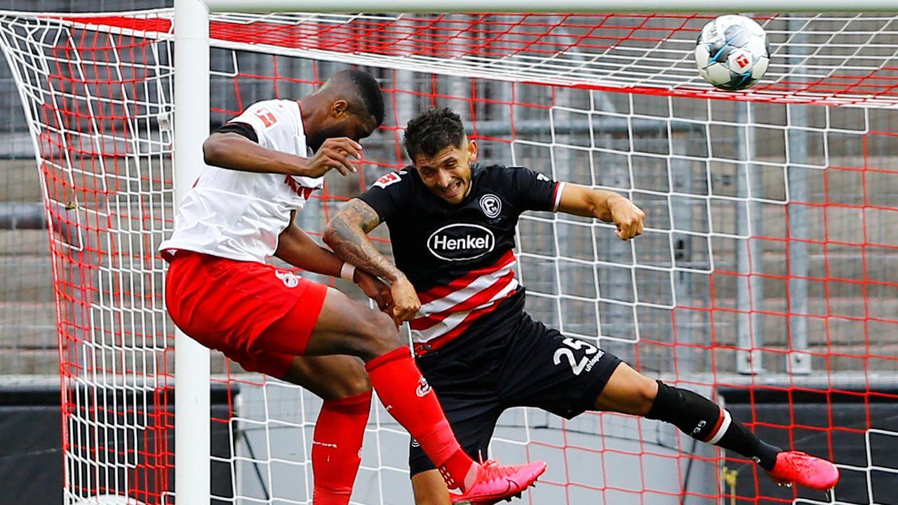 Fußball-Bundesliga: Köln rettet einen Punkt gegen Düsseldorf