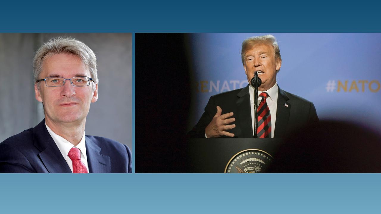 Kommentar: Trumps Lügen zerstören das Fundament der NATO