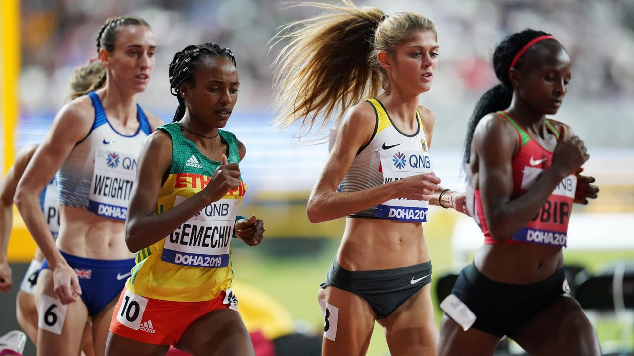 Lonstanze Klosterhalfen Ger After Winning Bronze In The 1500m Youtube