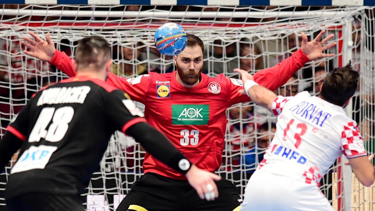 Kroatien Deutschland Handball