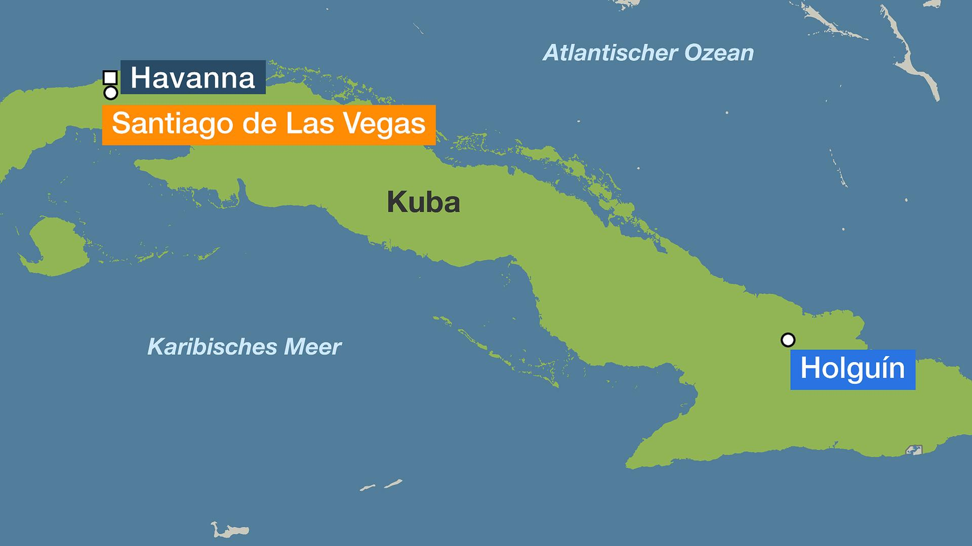 Havanna Kuba Karte.Kuba Im Schock Wohl Mehr Als 100 Tote Nach Flugzeugabsturz
