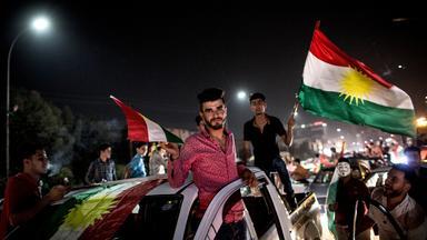 iraks kurden stimmen ueber unabhaengigkeit ab