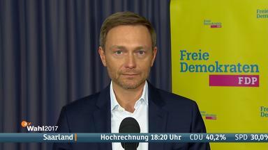 FDP-Parteichef Lindner bleibt positiv