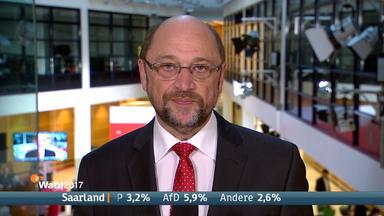 Kein schöner Abend für Schulz