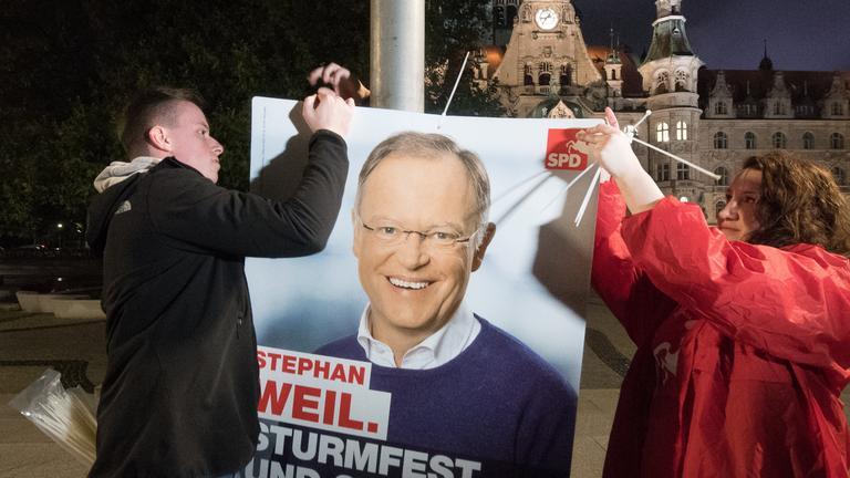 Landtagswahlkampf in Niedersachsen