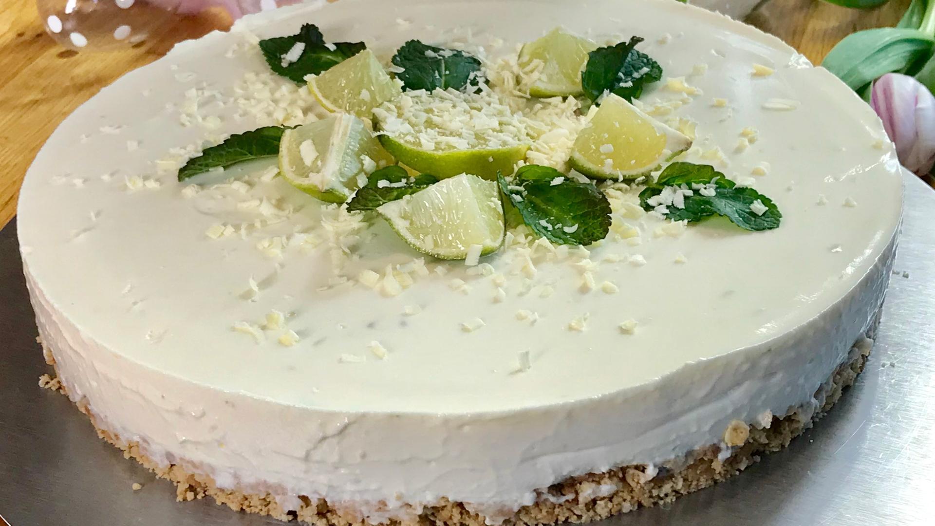 Christinas Limetten Cheesecake Zdfmediathek