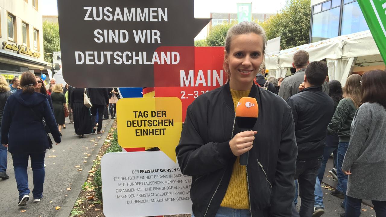 Logo Tag Der Deutschen Einheit Zdfmediathek