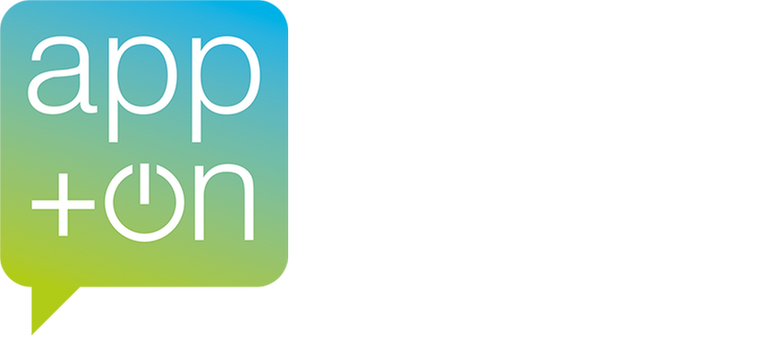 app+on logo