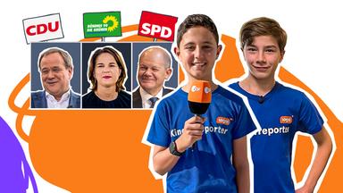 Logo! - Die Kindernachrichten Des Zdf - Logo! Extra: Wer Sind Die Kanzlerkandidaten?