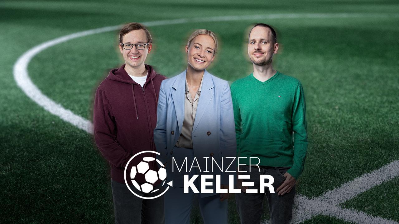 """Mainzer Keller"" mit ZDF-Reporter Béla Réthy"