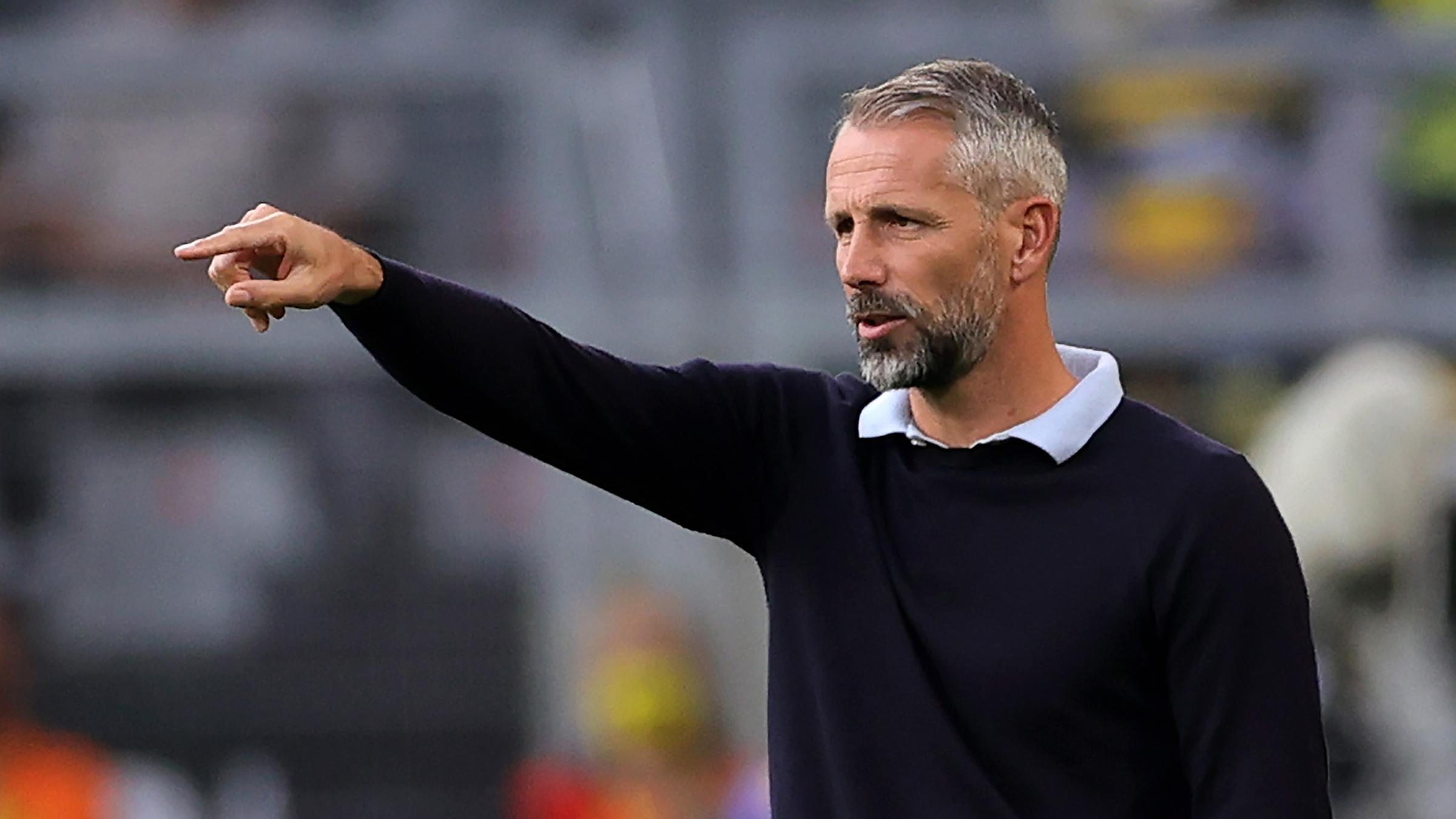 Archiv: Marco Rose der Trainer von Borussia Mönchengladbach am 19.09.2020 in Dortmund.