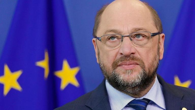 Martin Schulz am 18.02.2016