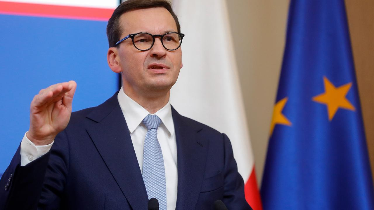 """""""Dritter Weltkrieg"""": Morawiecki droht EU"""