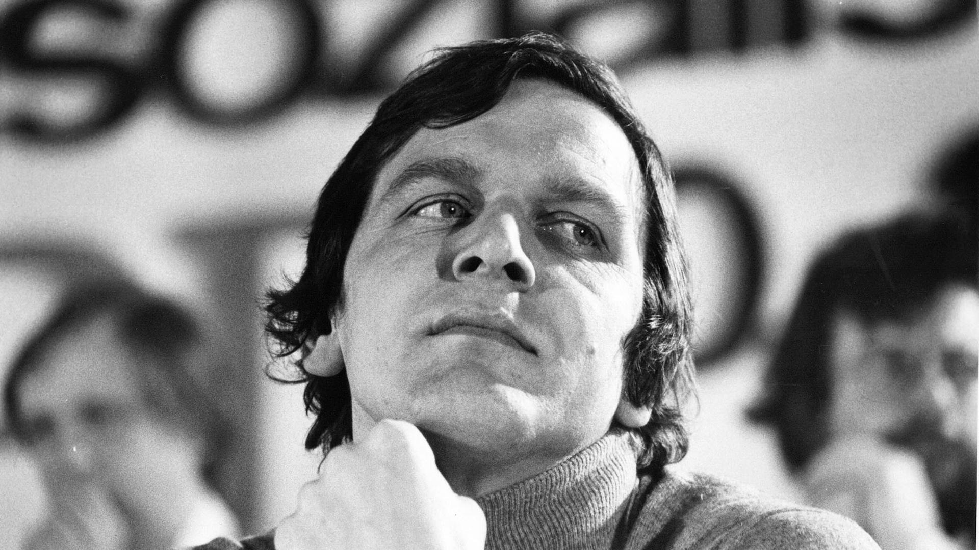 gerhard schrder auf dem bundeskongress der jungsozialisten 1978 - Gerhard Schrder Lebenslauf