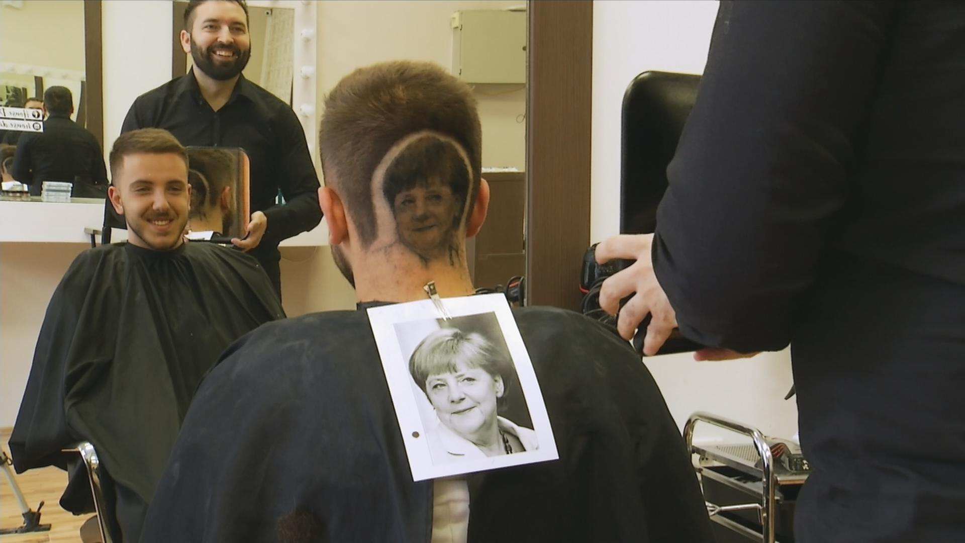 Merkel Als Frisur Zdfmediathek