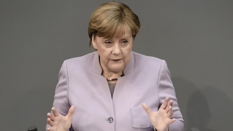 Merkels Regierungserklärung zum Brexit.