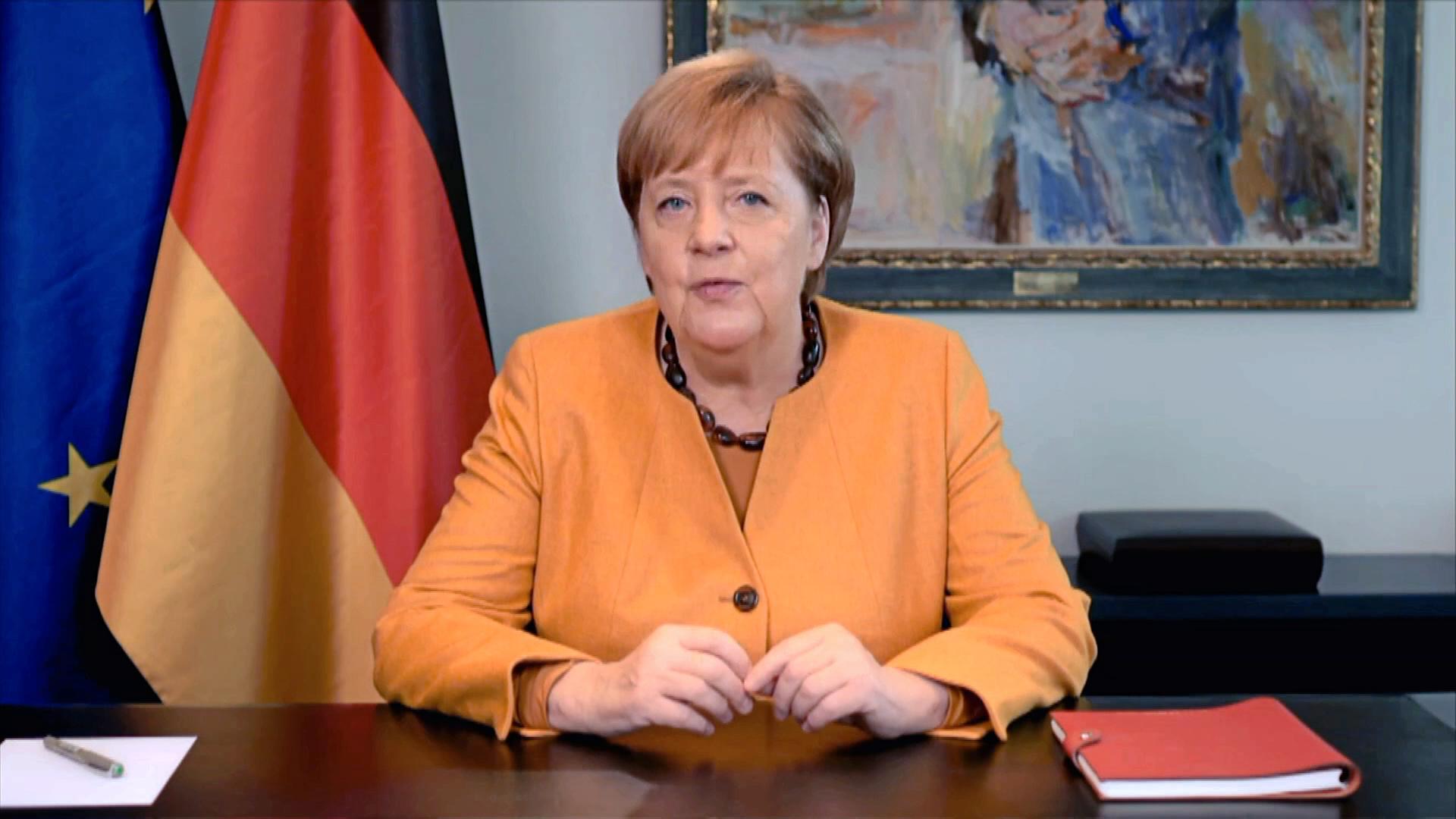 """Merkel-Appell: """"Wir sind nicht machtlos gegen das Virus"""" - ZDFheute"""