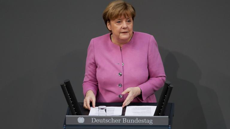 Merkel Regierungserklärung.