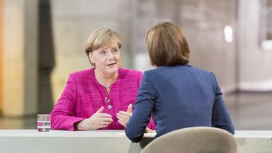 Berlin Direkt - Angela Merkel Im Zdf-sommerinterview