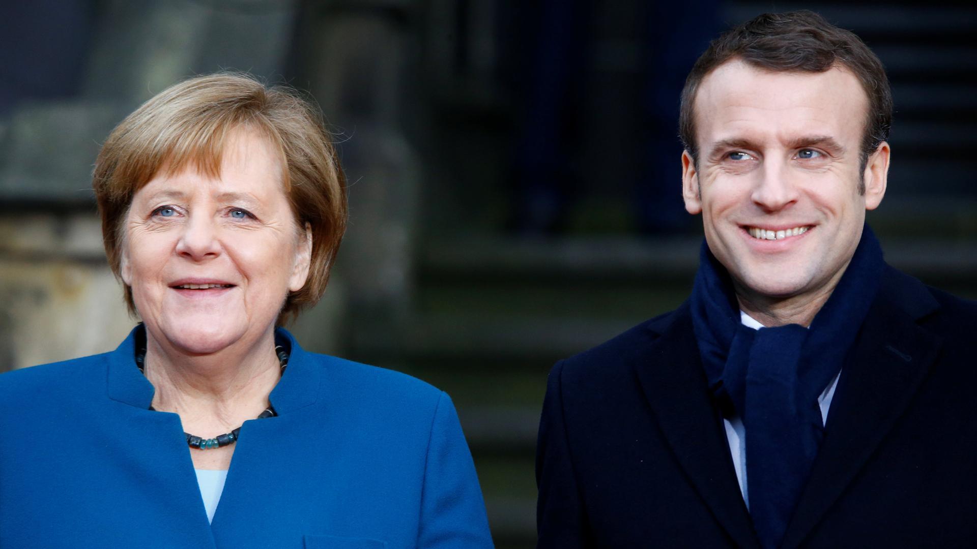 Aachener Vertrag Alte Ehepaare Und Ein Wichtiges Signal Zdfmediathek