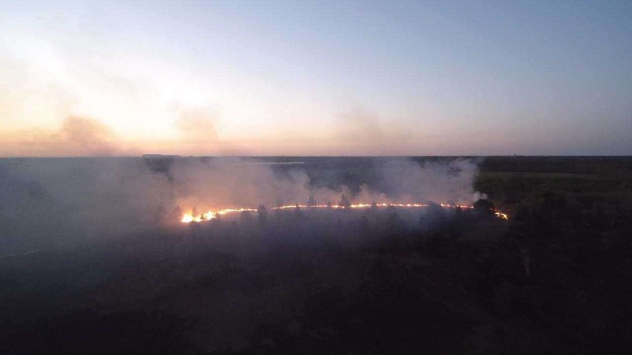 Moorbrand In Papenburg