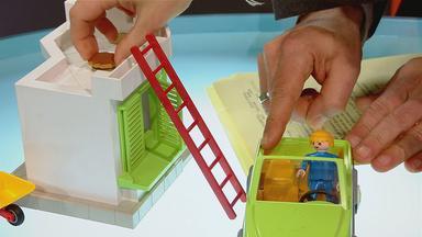 Münzraub mit Playmobil