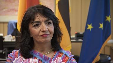 """Forum Am Freitag - """"engagiert Euch!"""" – Landtagspräsidentin Muhterem Aras."""