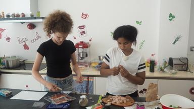 Die Wg - Die Mädchen-wg - Folge 11: Küchenschlacht