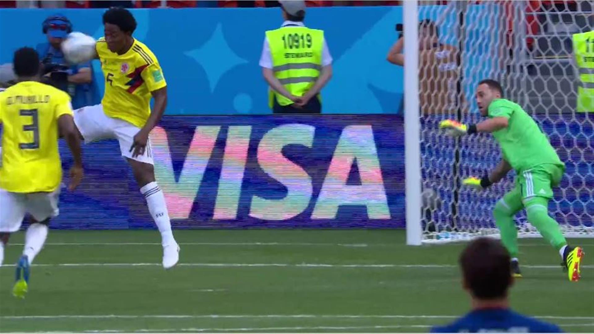 Rote Karte Wm 2018.Gruppe H Kolumbien Japan 1 2 Fifa Wm 2018 Zdfmediathek